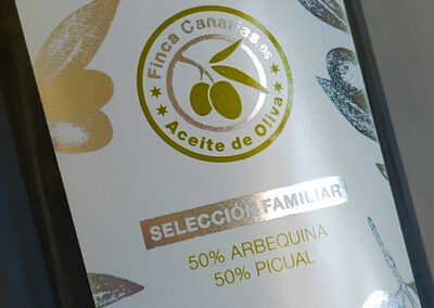 Aceite Finca Canarias